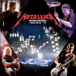 METALLICA. WORLDWIRED TOUR 2019